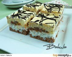 Bounty řezy :: Jana v pohodě Czech Recipes, Ethnic Recipes, Torte Recepti, Wedding Desserts, Nutella, Sweet Recipes, Tiramisu, Cheesecake, Food And Drink