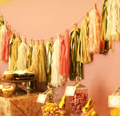 The Flair Exchange® | Customer Party – Pink and Gold Dessert Table | http://theflairexchange.com