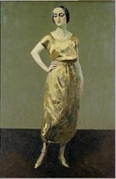 Portrait de Mme Jenny Bernard Van Dongen Kees (1877-1968)