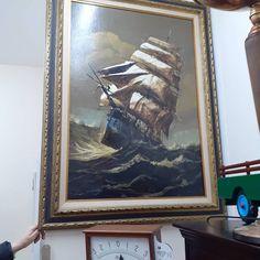 Curiosity Shop, Surrey, Painting Frames, Ship, Display, Antiques, Shopping, Vintage, Instagram