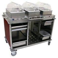 Mobile Hot Buffet Cart