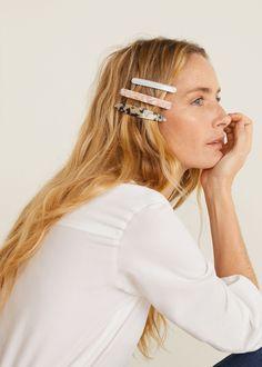 3 bow hairclips set - f foHair accessories Women Retro Chic, Trendy Mood, Lace Front, German Fashion, Barrettes, Zara, Mango Fashion, Fashion Group, All About Fashion