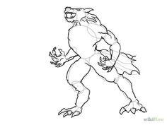 Draw a Werewolf Step 9 Version 2.jpg