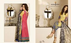 Asim Jofa Luxury Lawn Summer Collection 2015-2016 Complete Catalogue | StylesGlamour.com