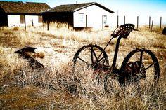 Farm Photography antique farm implement farm by debbiesfineart