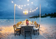 Definitely one of those ooh & ahh settings! Bahamas Wedding by Style Art Life