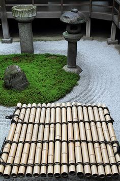 The Zen garden in Ryousokuin temple in Kenninji #japan #kyoto