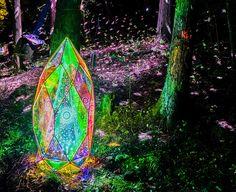 宮沢賢治の世界を光で再現。「童話村の森ライトアップ」が素晴らしい Interactive Installation, Light Installation, Bio Art, All Of The Lights, Belleza Natural, Art Festival, Picture Photo, Sculpture Art, Scenery