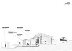 Image 23 of 24 from gallery of Silindokuhle Preschool / Collectif saga. Cross Section