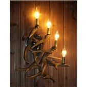 Faux Antler Chandelier Antler Lighting Country Nordic Style Two-Tier with 9 Lights Dining Room Lighting Ideas Living Room Bedroom Lighting Antler Lamp, Antler Lights, Antler Chandelier, Dining Room Lighting, Bedroom Lighting, Art Deco Wall Lights, Ceiling Lights, Painted Antlers, Cabin Doors
