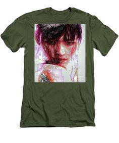 Men's T-Shirt (Slim Fit) - Oriental Portrait