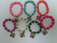 Denarios Perlas Engomadas X 10 U / Rosario -colores Surtido - $ 150,00 en MercadoLibre