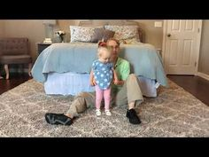 #98 Teach your Child Standing Balance: Exercises for a Baby with Low Tone - YouTube