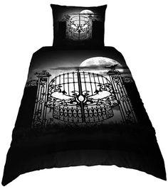 "Goth Shopaholic: Alchemy Gothic's Hauntingly Beautiful Bedroom Sets - ""Abandon No Hope"""
