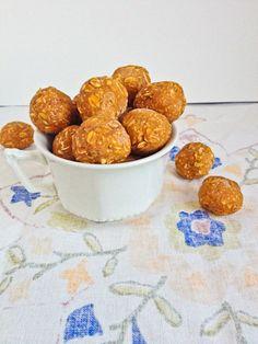 Pumpkin peanut butter freezer cookies (gf)