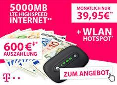 Telekom Data Comfort L Premium mit 600€ Auszahlung http://www.simdealz.de/datentarif/telekom-data-comfort-mit-auszahlung/