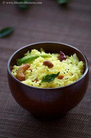 Indian Cuisine: Lemon Rice Recipe - Nimmakaya Pulihora Recipe - Chitranna Recipe - South Indian Recipes