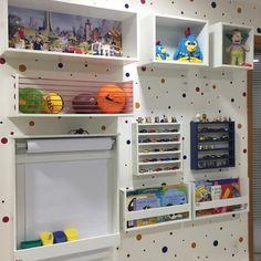 Baby Bedroom, Baby Boy Rooms, Baby Room Decor, Kids Bedroom, Boy Toddler Bedroom, Childrens Reading Corner, Library Bedroom, Cool Kids Rooms, Superhero Room