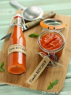 """De vous à moi...: Tomato Ketchup """"Maison"""""""