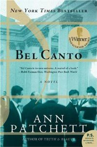 Can't believe I never pinned this before, because I adore this book, Bel Canto - Ann Pachett