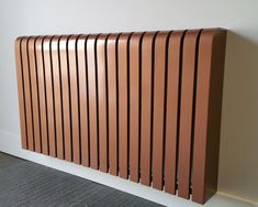 The home of cool bespoke designer radiator covers. The stylish, elegant & intelligent radiator cover solution. Painted Radiator, Copper Paint, Designer Radiator, Radiator Cover, Grand Designs, Heating Systems, Wooden Flooring, Wow Products, Real Wood