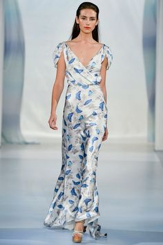 Luisa Beccaria Spring 2014 Ready-to-Wear Fashion Show Collection Passion For Fashion, Love Fashion, High Fashion, Fashion Show, Fashion Looks, Milan Fashion, Luisa Beccaria, Glamour Moda, Jessica Parker