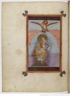 Evangelia quattuor [Évangiles de Lothaire] (3v-207r). Capitulare evangeliorum (207v-221v). Auteur : Maître C. Enlumineur Date d'édition : 0849-0851 Contributeur : Lothaire Ier Type : manuscrit Langue : Latin