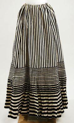 PetticoatDate: late 19th century Culture: French Medium: silk