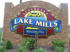 Lake Mills Wisconsin...on Rock Lake. Sweet quiet summer retreat half way between Milwaukee and Madison. Legend has it that there are pyramids deep in the lake.