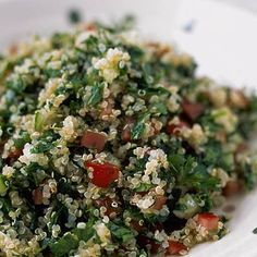 Keep your metabolism going with this Quinoa Tabbouleh Salad. | Health.com