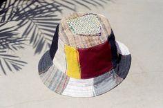 剛剛逛 Pinkoi,看到這個推薦給你:限量一件 民族拼接手織棉麻帽 / 漁夫帽 / 遮陽帽 / 拼布帽 - 撞色拼接民族風 - https://www.pinkoi.com/product/E2zZaNF1
