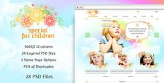 Review Special for Children and Baby - PSD TemplateThis site is will advise you where to buy
