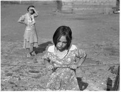 Child and Her Mother by Dorothea Lange