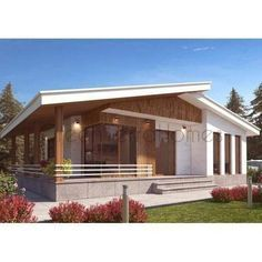 SHELL HOME PACKAGE 3BR 1.5BA 1050SF THE MANUAE MODERN MODULAR HOUSE-GreenTerraHomes