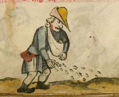 Kalender und Praktika auf die Jahre 1368 14. Jh. Cgm 32 Folio 9v