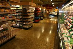 Bomanite Custom Concrete Polishing Systems with Patene Teres at Mazoplya Natural Food Store in Prior Lake, MN. A photo of the concrete floor. Concrete Art, Polished Concrete, Concrete Floors, Pervious Concrete, Exposed Aggregate, Prior Lake, Photo Galleries, Flooring, Gallery