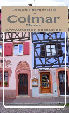 Die besten Tipps für einen Tag in Colmar. Schau mal rein! Colmar Alsace, Travel Companies, Hotels, Provence, France, Travel Destinations, Cool Designs, Travelogue, Europe