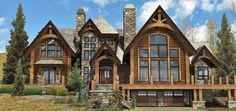 Birch Creek - Log Homes, Cabins and Log Home Floor Plans - Wisconsin Log Homes