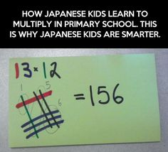And This Is Why Japanese Kids Are Smarter || well, never heard of this before and that tells me something...