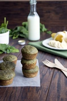 Green+Monster+Smoothie+Muffins+#howto+#tutorial