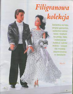 Barbie dress crochet pattern