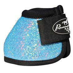 Turquoise Glitter Bell Boots
