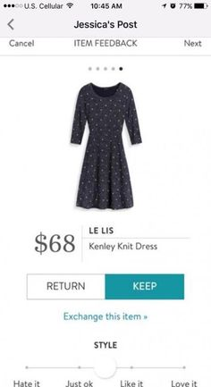 Dear Stitch Fix Stylist, love this! Looks great for work during the fall and winter. Stitch Fix Dress, Stitch Fix Fall, Stitch Fix Outfits, Stitch Fit, Pretty Outfits, Cute Outfits, Stitch Fix Stylist, Winter Dresses, Dress Winter