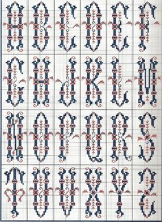 Gallery.ru / Фото #16 - Sajou Passion des Alphabets Anciens - Orlanda