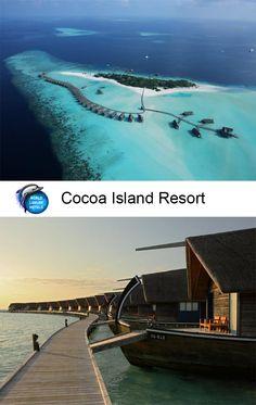 Cocoa Island Resort #Hotel #Resort #Maldives