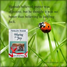 A short quote from HOPING FOR JOY!