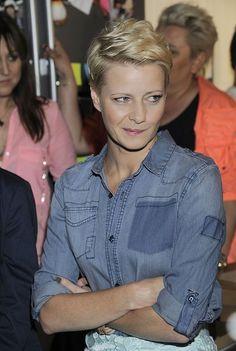 #małgorzata_kożuchowska #fryzura #pixie #cut