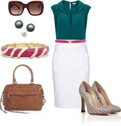 """Wear to work - Spring 2013"" by quasdorf on Polyvore"