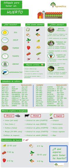 DIY: ¿Cómo plantar tu primer huerto?. http://www.farmaciafrancesa.com: