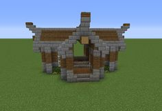 Rustic Enchanting House - GrabCraft - Your number one source for MineCraft buildings, blueprints, tips, ideas, floorplans!